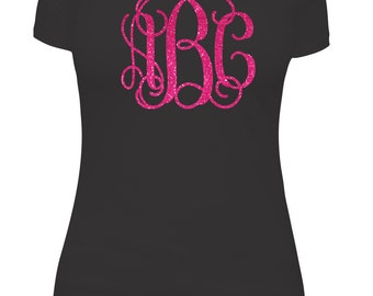 DIY Iron on Monogram- Custom Colors