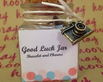 Good Luck Jar and Bracelets
