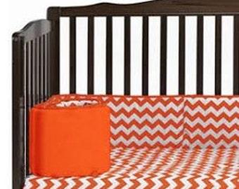 Chevron Crib Bumper
