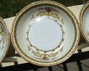 Vintage Noritake Caroltonia Desert Berry Bowls 78048 Set of Seven 7