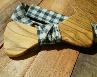 Wooden Bow Tie - Staghorn Sumac