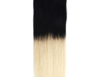 Magic-HALO-Secret -Miracle wire OMBRE -dip dye 100% Human Hair extensions/ 18 inches/ 1BT60