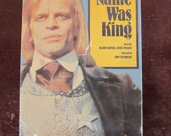 His Name Was King vintage 70's western movie