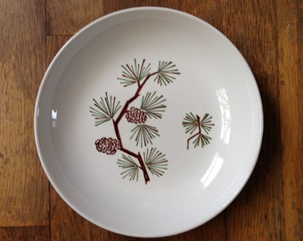 Marcrest Stetson Pine Pinecone Vegetable Bowl