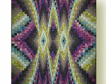 Sale - Bright Nights Bargello Quilt Pattern