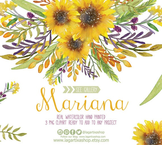 Sunflower image clipart the wedding