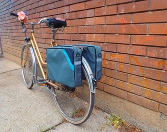 Pannier bike bag for lap top