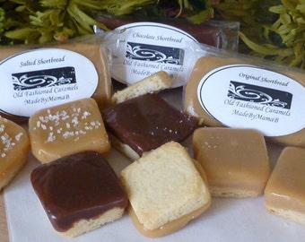 Caramel Shortbread Cookie variety box MadeByMamaB