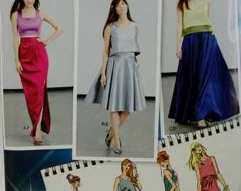 Simplicity 1099 Misses' Skirts and Tops Sewing Pattern New / Uncut Size 4-12