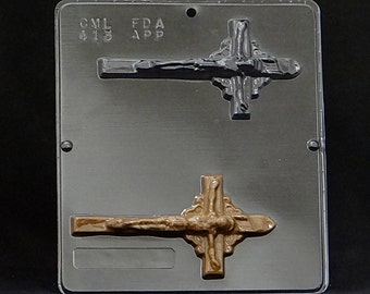 Crucifix Religious Chocolate Candy Mold Religious 413