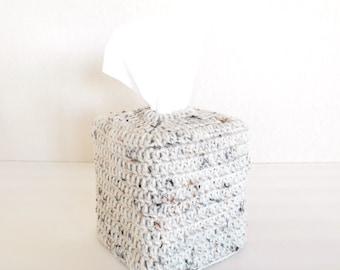 Crochet Tissue Box Cover - Crochet Tissue Box Cozy - Kleenex Tissue Box Cover - Nursery Decor - Home Decor - Bathroom Accessories