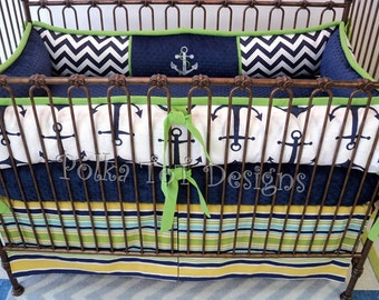 Starboard Nautical Crib Set