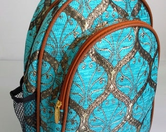 Boho Embroidery Backpack - Ethnic Gypsy Bag - Boho Rucksack - Hipster Backpack  ( FREE SHIPPING WORLDWIDE )