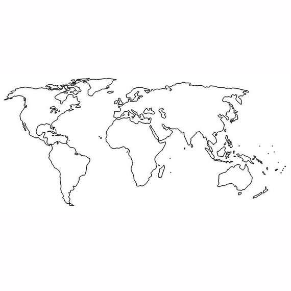 World map tattoo valentine gift for her temporary tattoo like this item gumiabroncs Images