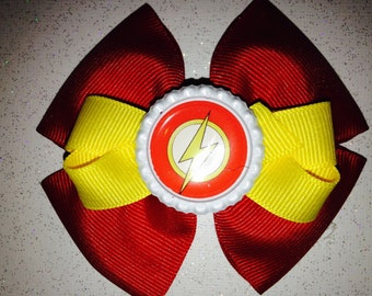 The Flash Inspired Hair Bow