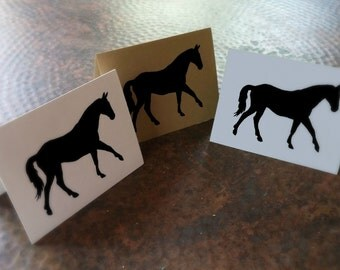 Horse Note Cards - Horse Cards - Blank Note Cards - Equestrain Card - Note Card