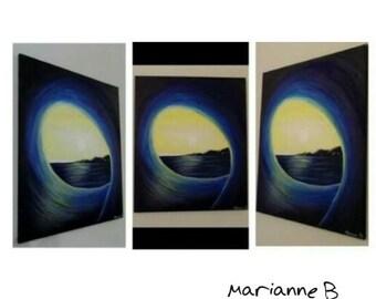 Barrel Wave Surf