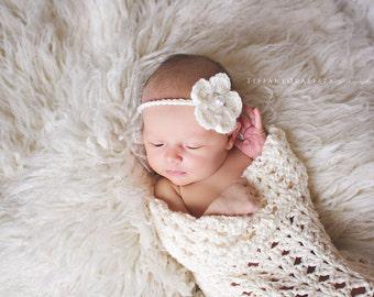 Newborn Cocoon & Headband