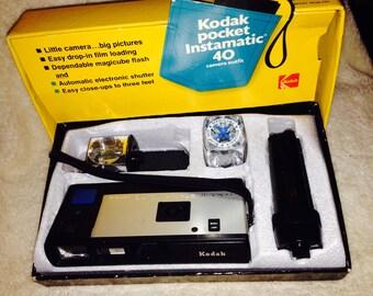 Vintage Kodak Pocket Instamatic 40 Camera