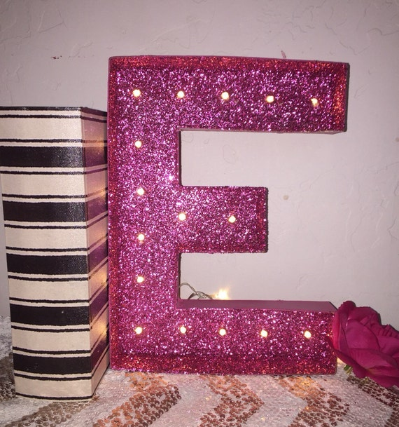 Sale marquee letter light up letters glitter marquee chose for Light letters for sale
