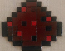 Minecraft Redstone shaped coster