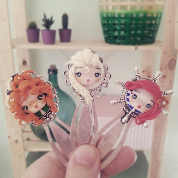 Disney Bookmarks (Merida, Elsa or Ariel)