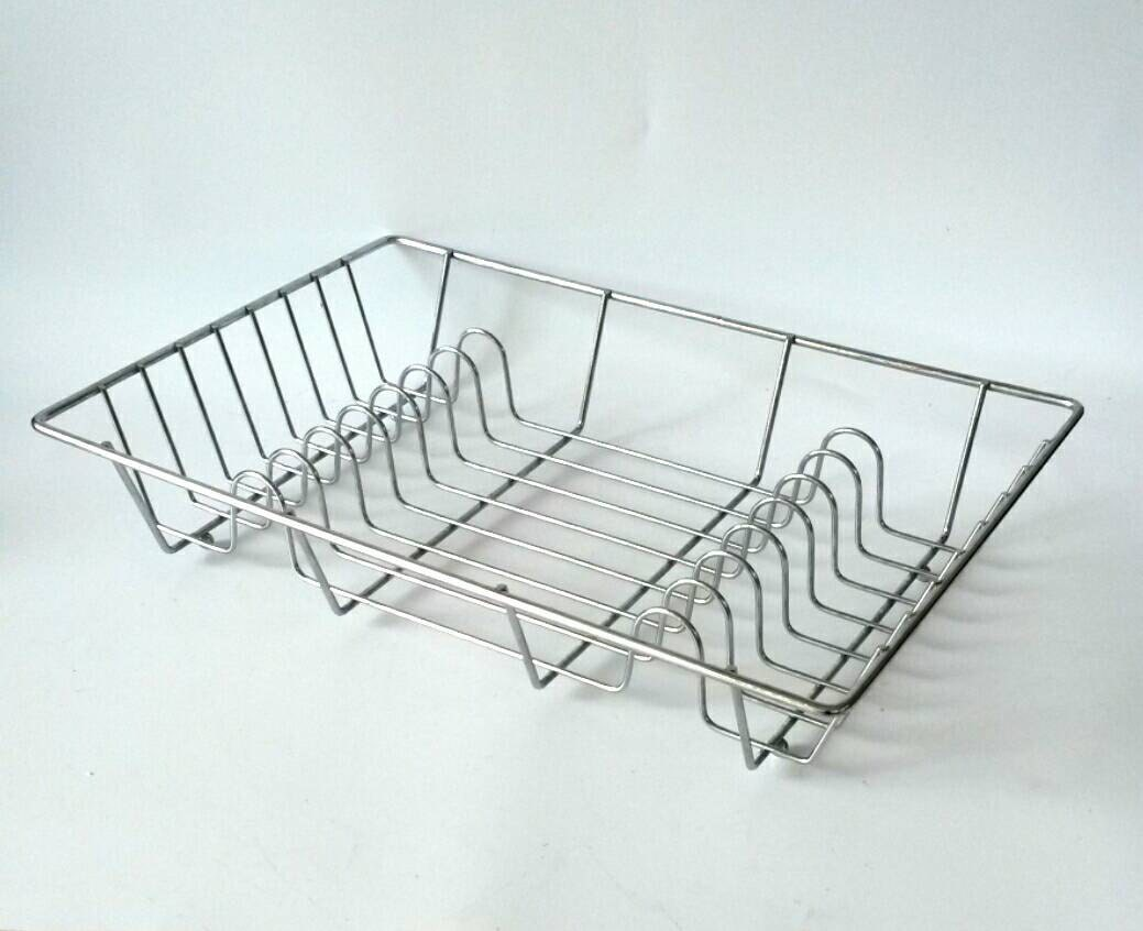 Chrome Kitchen Drying Rack Dish Metal By Makingmidcenturymod