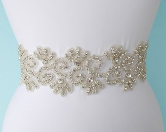 Wedding Belt Bridal Belt Sash Bridal Dress Belt Bridal Belt Wedding Belt Crystal Wedding Belt Bridal Sash Belt Dress Sash Belt Dress Belt