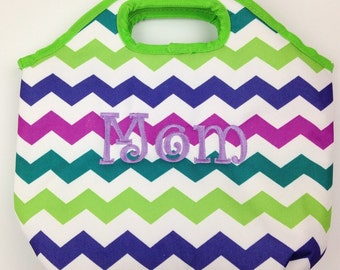Personalized Insulated Lunch Totes