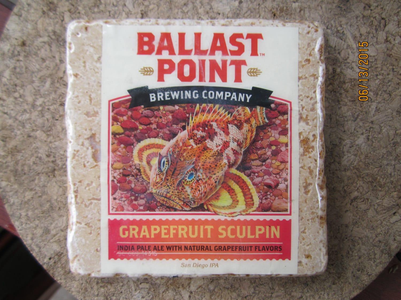 Ballast Point Sculpin Grapefruit Ipa Marble Marble Tile