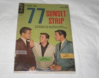 vintage 1962 gold key number 1 77 sunset strip comic book
