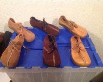 Vintage Anne kalso earth shoes deadstock negitive heel 1970's new women's 5 5.5 6