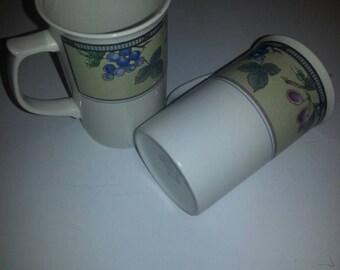 Mikasa 'Garden Harvest' Cappuccino Mugs