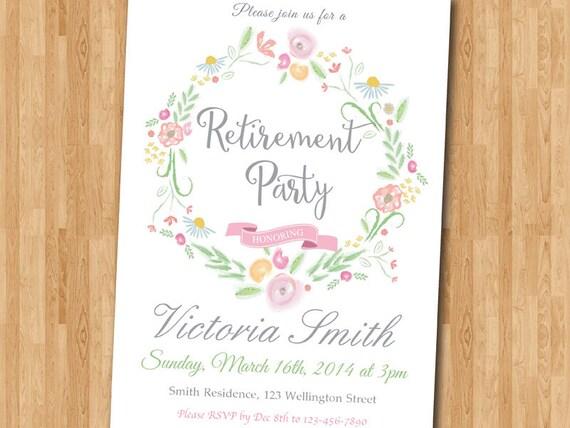 pensionierung einladung. einladung zur pensionierung., Einladung