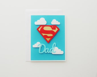 Super Dad- Father's Day Handmade Card