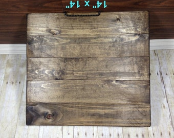 "Reclaimed Wood Blank Canvas/ 14"" x 14""/ Make Your Own Sign/ Blank Pallet Wood Sign/ Blank Wood Sign/ Distressed Blank Wood Sign"