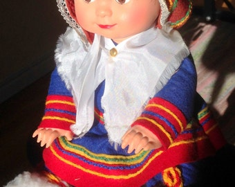 A little cute doll with Sami clothing