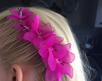 Flower Hair Comb