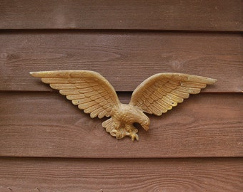Cast Eagle, Vintage Wall Eagle, Colonial Accent