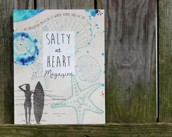 Salty At Heart - An empowering magazine of women, humor, and the sea