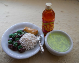 Miniature Chinese Food - Lunch Special