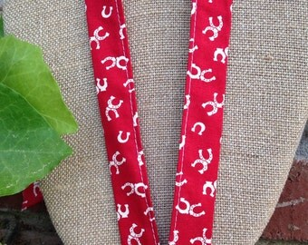 SALE! Lucky Horseshoe Lanyard