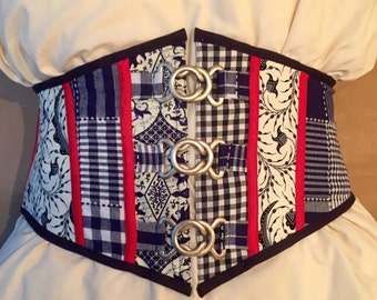Dutch Blue Corset Belt