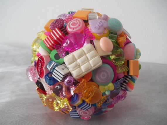 Small Candy Bouquet. Wedding Decoration. By