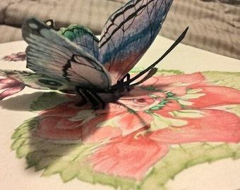 Papercraft Butterfly Magnet