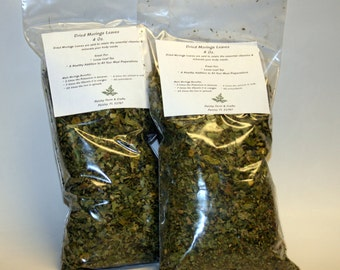 8 Oz Dried Moringa Leaves - Fast Ship From Florida