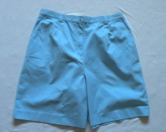 Like New Womens Pendleton Blue Cotton Shorts, SZ 20