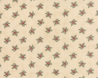 Under the Mistletoe by 3 Sisters for Moda Fabric. Linen 44076 11.