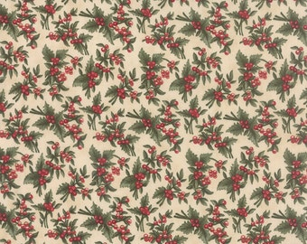 Under the Mistletoe by 3 Sisters for Moda Fabric. Linen 44072 11.