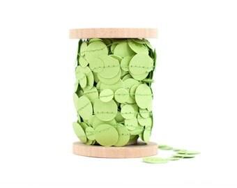 Spring Green Paper Garland